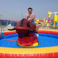 户外游戏电动玩具旋转翻转斗牛机设备广场景区游乐场斗牛机游艺机设备