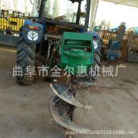 拖拉机带动的挖坑机 拖拉机带动的挖洞机 四轮拖拉机带动的挖坑机