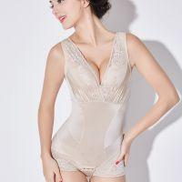 嫏之孕女士产后薄款护腰塑身美体无痕收腹束身三角提臀瘦身连体内衣服31008