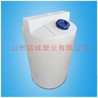 山东滚塑加工1吨带电机搅拌桶 1000升加药箱 水处理外加剂专用