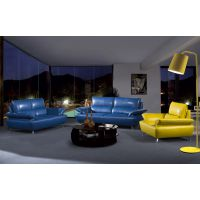 佛山真皮沙发 佛山组合沙发 现代时尚家具 客厅家具 亿思LZ020