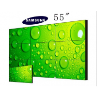 三星55寸液晶DID拼接、深圳液晶拼接屏 拼缝3.5mm