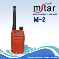迷你型对讲机M2微型 超薄便携手台 民用商用餐厅发廊专用对讲机批发
