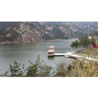 厂家供应14米双层画舫 餐饮 观光平台 客船 水上餐厅