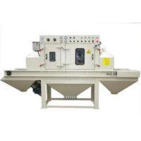 浙江通宝专业生产TB500-6A 输送直吸式自动喷砂机 通过喷砂机 玻璃雾化机 玻璃磨砂机 板材除锈