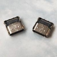 TYPE-C短体母座三排24P针(12P贴板+12P插板)~搭配乐视公头专用