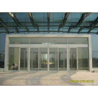 花都自动玻璃门安装,国产感应门电机18027235186