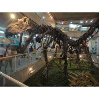 上海大克新款恐龙模型材质硅胶 金属骨架能动会叫 2米高人穿仿真恐龙衣服