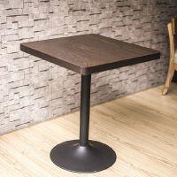 海德利 美式乡村 做旧铁艺实木餐桌椅 酒店餐厅客厅桌椅组合可定制