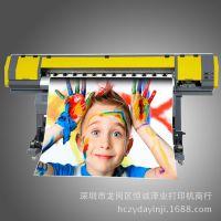 户内户外压电写真机 高精度高速度 喷绘机 数码印花 玻璃移门