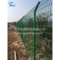 专业生产高速公路防撞护栏网 高速带框防护栏 道路护栏网