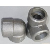 专业生产碳钢承插三通 锻制螺纹三通