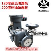 高温防爆热油泵 RGZ-10EX泵 热水热油高压防爆油泵 模温机泵浦