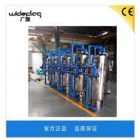 广旗厂家直销江苏不锈钢机械过滤器 南京地下井水净化水质处理机械过滤器