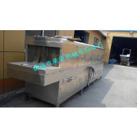 高效食品盘子清洗机全自动周转筐清洗设备厂家直供梁源机械