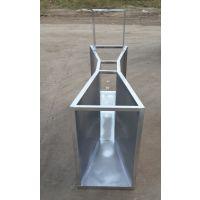 江苏供应流量2268m³/h不锈钢B=450巴氏计量槽8号水堰槽