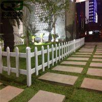 塑钢护栏 定做各类花园PVC护栏草坪栅栏 塑钢围墙围栏