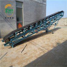 加长带式输送机 标配不锈钢传输机 移动升降皮带机价格
