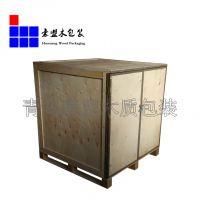 青岛木箱托盘胶合板全封闭包装定制样式尺寸