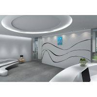 昆明大气广告公司办公室装修 200㎡传媒办公室设计效果图
