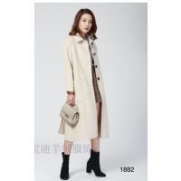 武汉市呢子大衣阿尔巴卡大衣2018新款