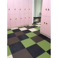 ECO艺科美PVC编织地毯 健身房 酒店 餐厅 卧室 咖啡厅 满铺方块砖 编织纹地毯