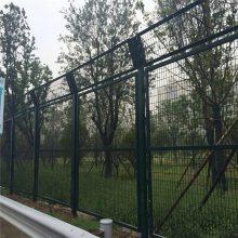 焊接双边丝围栏 场区隔离网 铁丝网厂家批发