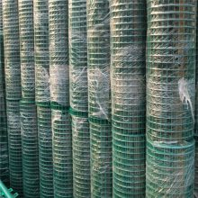 鸡舍网 绿色铁丝网笼 方孔网 养鸭铁丝网