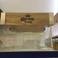 亚克力木质冰桶 led发光冰桶 亚克力带灯冰桶 夜场酒吧专用啤酒