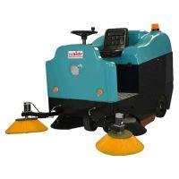 煤矿厂用大型驾驶式扫地机 清扫煤渣煤灰煤块威德尔电动扫地机