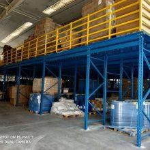 二层钢平台设计 阁楼式钢结构结价格