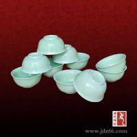 唐龙陶瓷青瓷火锅餐具定制厂家 定做火锅餐具碗盘套件