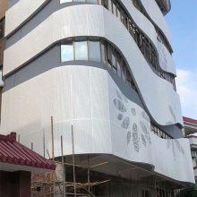 供应铝合金单板 幕墙冲孔铝单板 提供设计及安装_欧百得