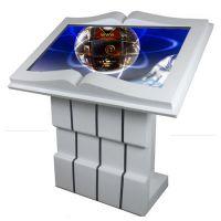新款43寸卧式触摸查询一体机 红外电容触摸显示器 电子翻书触控一体机 厂家直销