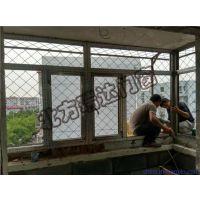 顺义滨河小区31号楼2单元501室安装60断桥铝合金窗户案例