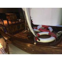大型餐厅船 室内景观船厂家 那里有欧式仿古船定做