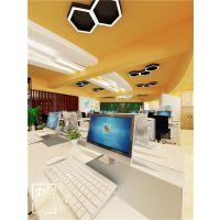 南宁办公空间设计装修简约不简单-灿源装饰