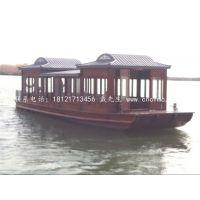【楚风】直销湖南18米画舫船 公园游船 仿古木船 客船 出售