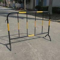 江门道路施工护栏 安全隔离铁马护栏 车辆分流铁马护栏