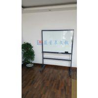 惠州玻璃白板M湛江防爆磁性会议白板M支架式办公移动板