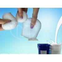 室温静止发泡的开孔的发泡硅胶