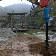 生产厂家直销挖掘机小型螺旋钻机现货一件代发