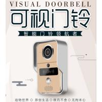 普慧智能 家用/楼宇智能可视门铃 可视对讲 APP控制 有线无线 高清视频