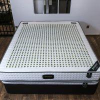享玉亲肤加厚针织面料双人玉石床垫智能温控加热天然乳胶床垫