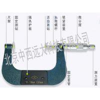 中西 公法线千分尺 型号:0-25 0.01mm库号:M248292