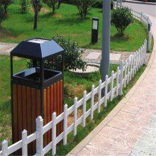 市政绿化栏杆 花园草坪护栏 大量现货 河南工厂 质高价廉 PVC锌钢栅栏