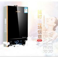 供应OEM12升液化/天燃气热水器 即热式恒温强排热水器