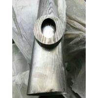 专业定制304不锈钢蚀刻管、别墅专用不锈钢装饰蚀刻椭圆管!