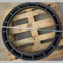 纤维增强塑料树脂井盖 加油站圆形承重井盖 防爆防静电双层防水DN900 河北华强
