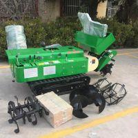 烟台红富士苹果树施肥机 富兴自走式柴油动力开沟回填机哪里有卖
